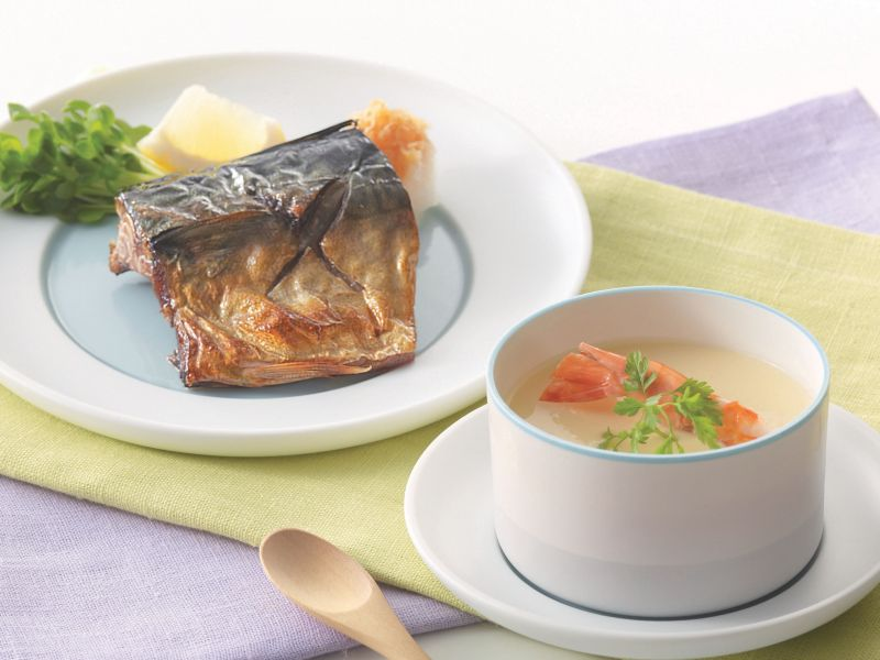 焼き魚&茶わん蒸し